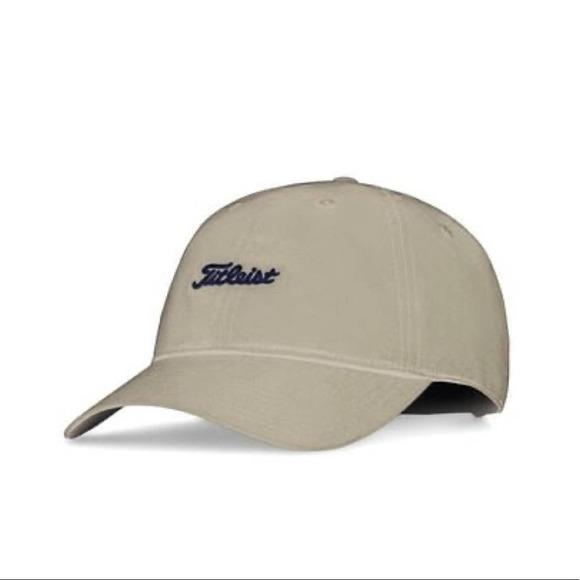 Titleist Tan Nantucket Golf Cap